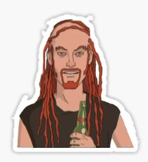 Pickles the Drummer Sticker