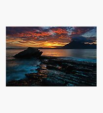 The Fires of Elgol Photographic Print