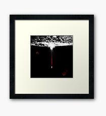 Moon Exit Framed Print