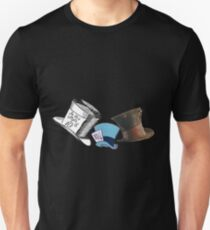 Mad Hatter - All the hats Unisex T-Shirt