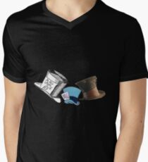 Mad Hatter - All the hats Mens V-Neck T-Shirt