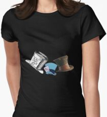 Mad Hatter - All the hats Women's Fitted T-Shirt
