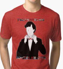 Sherlock (BBC) declaration for bowties Tri-blend T-Shirt