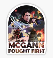 Mcgann Fought First Sticker