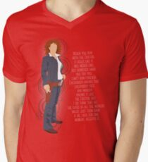 River Song Quote Men's V-Neck T-Shirt