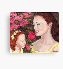 Flower of Womanhood Canvas Print