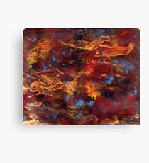 Crossing in cyberspace Canvas Print