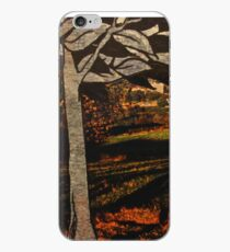 paper trees & pod birds  iPhone Case