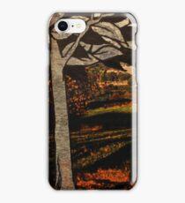 paper trees & pod birds  iPhone Case/Skin