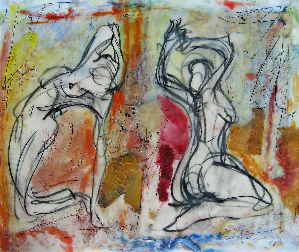 Saturday Morning Ladies by Marcie Wolf-Hubbard