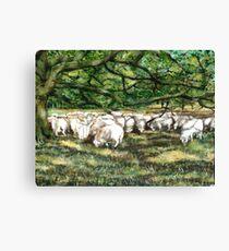 The Flock Canvas Print