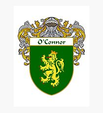 O'Connor Coat of Arms/Family Crest Photographic Print