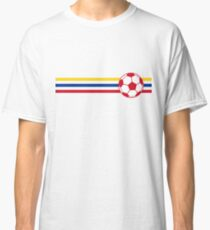 Football Stripes Colombia Classic T-Shirt
