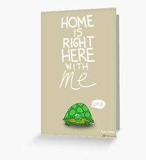 Valentine's Day Card (TURTLE) Greeting Card