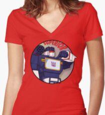 Soundwave: Superior Women's Fitted V-Neck T-Shirt
