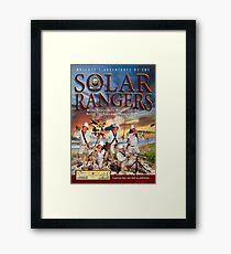 Solar Rangers Album Framed Print