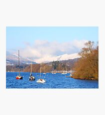 Lake Windermere - Bowness Photographic Print