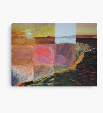 Niagara Falls at Sunset Canvas Print