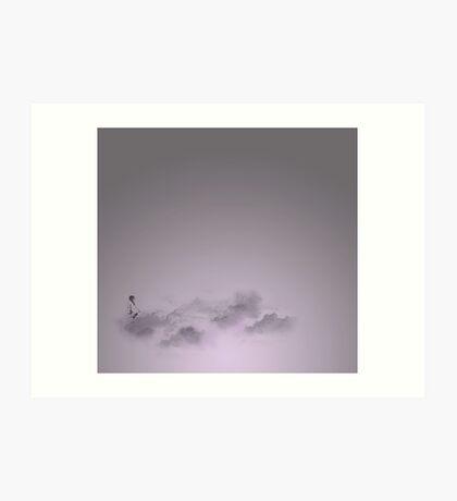 girl in the sky Art Print