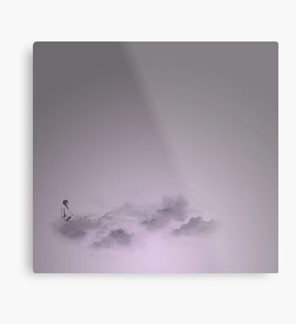 girl in the sky Metal Print
