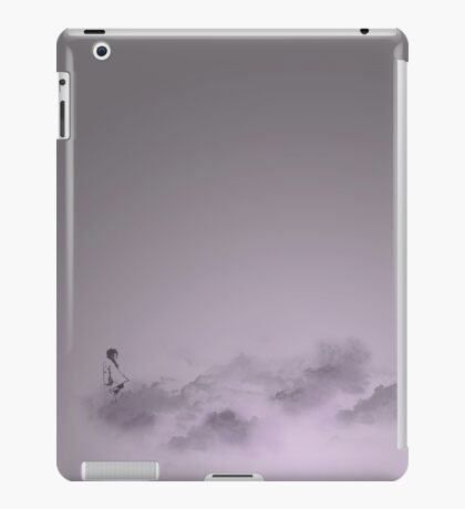 girl in the sky iPad Case/Skin