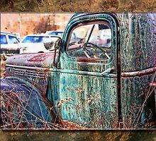 Junk yard truck by Tony  Bazidlo