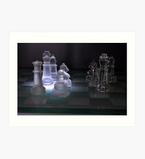 Chess Pieces - Art Print