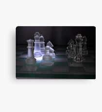 Chess Pieces - Canvas Print