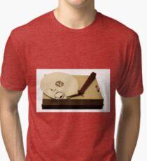 gypsy cloud vinyl Tri-blend T-Shirt
