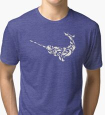 The Narwhal fromNarwhals Tri-blend T-Shirt