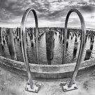 Princes Pier Fisheye by Vicki Moritz