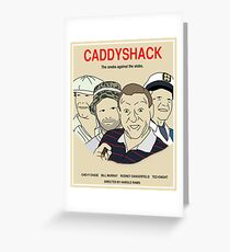 Caddyshack Movie Poster Greeting Card