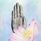Abhayamudra  by Damara Carpenter
