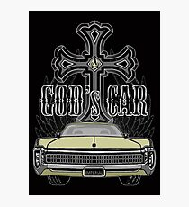 God's car Photographic Print