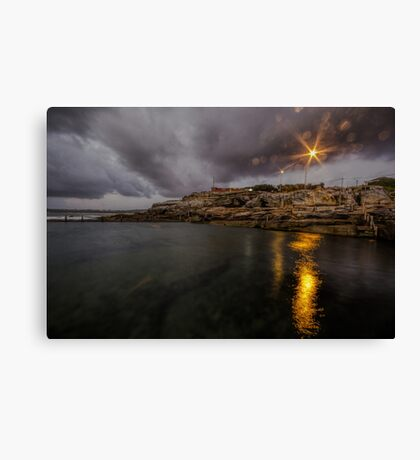 Maroubra Rock Pool Canvas Print