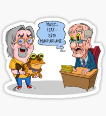 Matt Groening Saves Prime Time Animation Once Again! Sticker