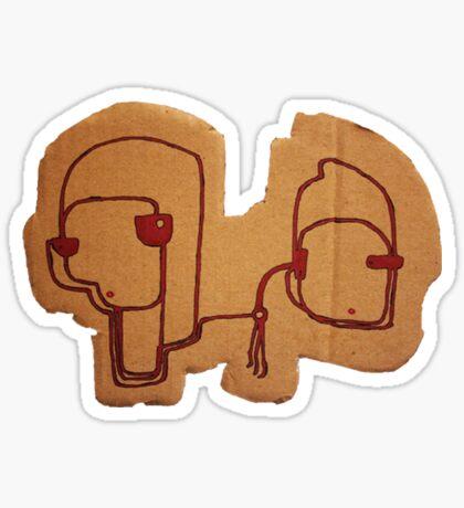 Socrates & Arnold Sticker