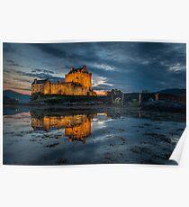 donan castle scotland Poster