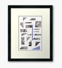 Sail. Framed Print