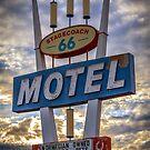 Stagecoach Motel by Trevor Middleton