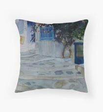 Skopelos Town ,Greece 2 Throw Pillow