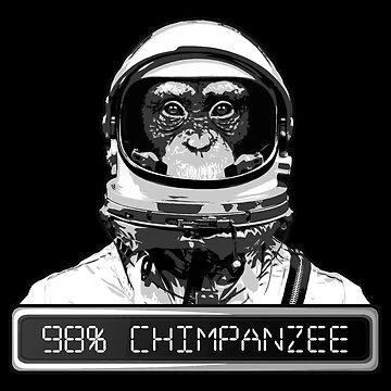 98% Chimpanzee by BakedBunny