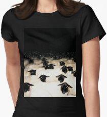 Wrong Neighborhood ! (FULL) Women's Fitted T-Shirt