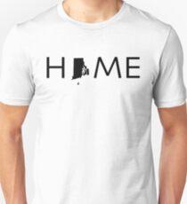 RHODE ISLAND HOME Unisex T-Shirt