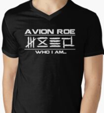 avion roe Men's V-Neck T-Shirt