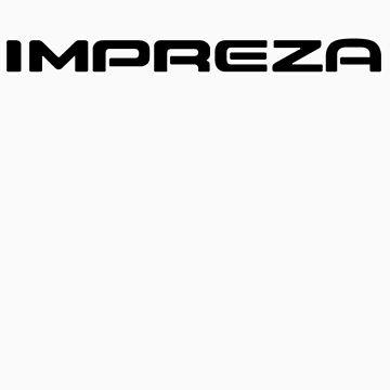 impreza logo by bacarecyclage