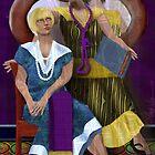 Best Friends: Ode to Tamara de Lempicka by Alma Lee