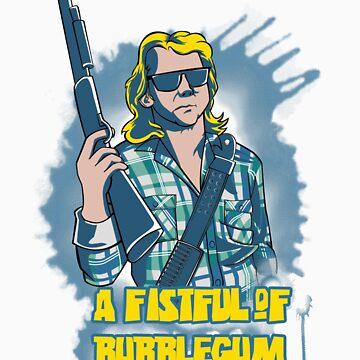 A Fistful Of Bubblegum by cjboucher
