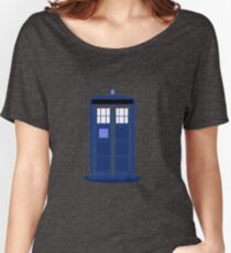TARDIS: Time and Relative Dimension in Space Women's Relaxed Fit T-Shirt