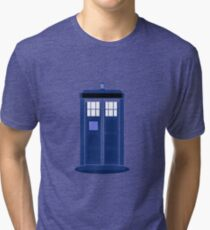 TARDIS: Time and Relative Dimension in Space Tri-blend T-Shirt